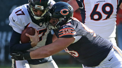 Unrein, Massie Out for Bears vs. Giants Sunday