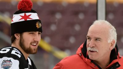Gustafsson, Dauphin Cut From Hawks' Camp Roster