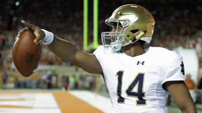 Notre Dame QB DeShone Kizer Declares for NFL Draft