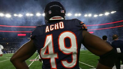 Bears Re-Sign Sam Acho to 1-Year Contract