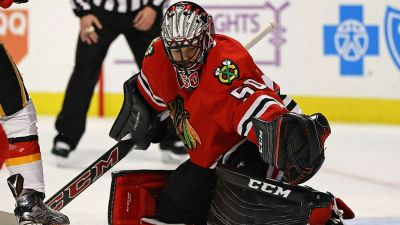 Corey Crawford Named NHL's Second Star of the Week