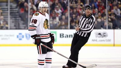 Kane Leads Blackhawks to 5-1 Win in Buffalo Homecoming