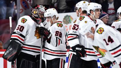 Three Stars: Kane, Crawford Lead Hawks Past Penguins