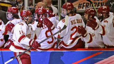 Denver Throttles Notre Dame to Reach Frozen Four Final