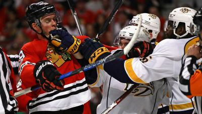 Blackhawks Lose Game 1 to Predators