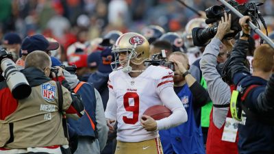 Gould Hits 5 FG as Niners Edge Bears