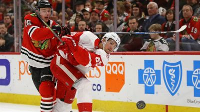 Blackhawks Blown Out by Red Wings