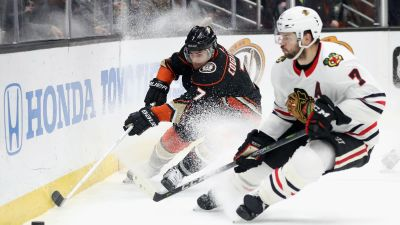 Blackhawks Blown Out by Ducks