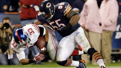 Cutler, Briggs Out for Sunday vs. Rams