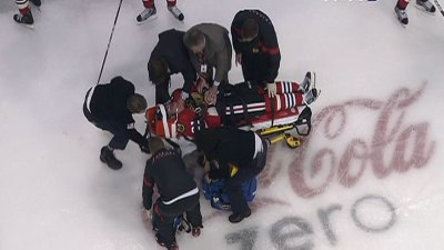 Blackhawks' Hossa Ruled Out of Game 4