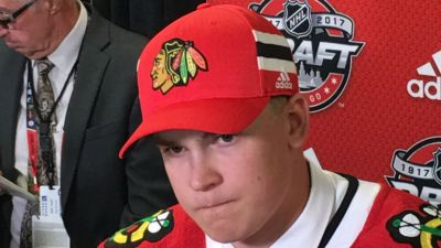 Jokiharju Enjoys Spotlight as Blackhawks Draft Pick