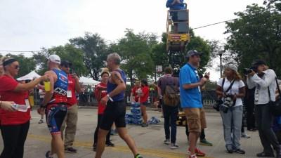 Rahm Emanuel Participates in Triathlon
