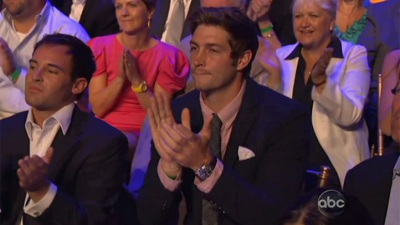 "Cutler Supports Cavallari at ""DWTS"" Show"