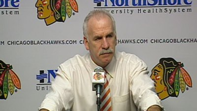 Blackhawks Exposed by the Blues