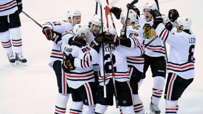 Kane's OT Goal Wins Series for Blackhawks