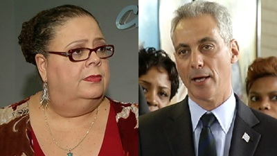 Karen Lewis Stops Dropping Rahm's Name in Public