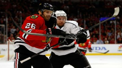 Handzus Ruled Out for Hawks vs. Stars