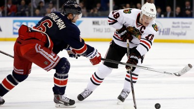 How Should Blackhawks Line Up if Toews Misses Games?