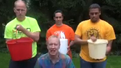 Bruce Rauner Accepts Ice Bucket Challenge