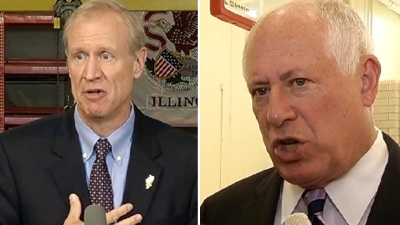 Quinn, Rauner Neck and Neck in Competitive Illinois Governor Race