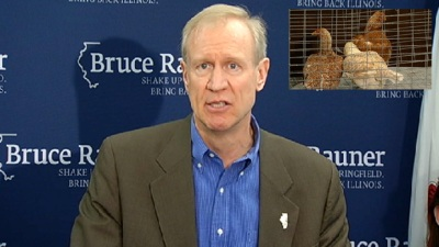 "Rauner Admits Nearly ""Punching Someone"" at Parade"