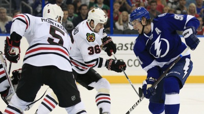 Hawks Lose to Lightning in OT