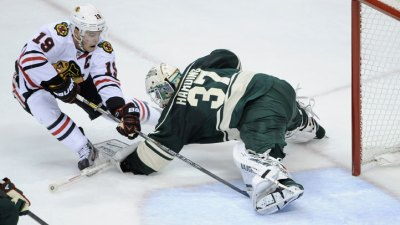 Blackhawks Shut Out Wild in Game 4