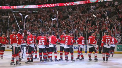 Hawks Take First Round Playoff Series
