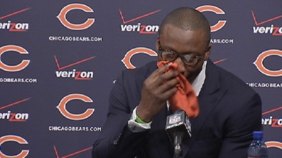 Tearful Marshall Thanks Bears For Saving His Career