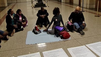 Parents Camp at City Hall, Demand Meeting With Mayor