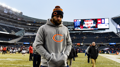 Video: Cutler Plays in Snow Tuesday
