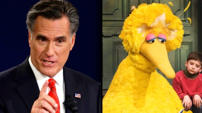 Satire: When Mitt Romney Visits Sesame Street
