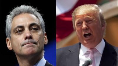 Trump Gave Rahm Emanuel $50K