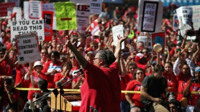 U.S. Teachers Unions Take A Hit