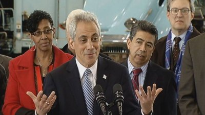 Emanuel Pegs Low Approval Rating on 'Economic Stress'
