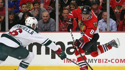 Wild vs. Blackhawks: TV Schedule Announced