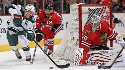 Blackhawks Take Down Game 1 in 5-2 Victory