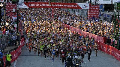 70,000+ Enter Chicago Marathon Lottery