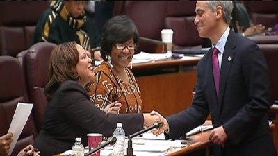 Sandi Jackson's Successor Sworn in as Alderman