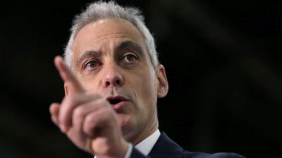 Rahm Wooing Indiana Businesses After