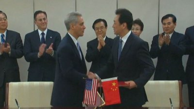 Emanuel Promotes Chicago in China