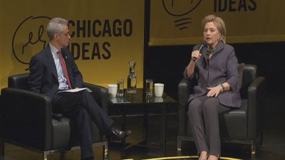Opinion: Rahm Lobs Softballs at Hillary in Chicago Interview
