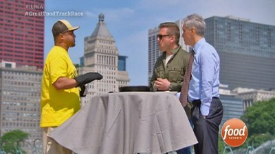 Rahm Appears on 'Great Food Truck Race'