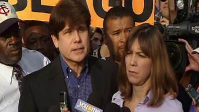 Blago Gets Prison Visit From Patti, Daughters