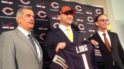 New Bear Kyle Long Learns About Bears Fans' Fervor