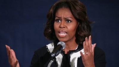 Michelle Obama Touts Quinn in New Radio Ad