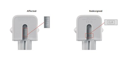 Apple Recalls AC Adapters Over Potential Shock Hazard
