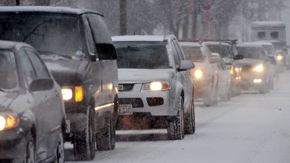 Wintry Mix to Make for Tough Morning Commute