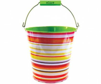 Candy Striped Bucket