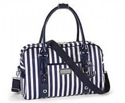 Stripes Boarding Tote